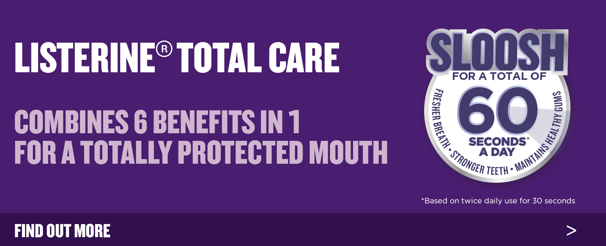 Benefits of Total Care Mouthwash - LISTERINE®