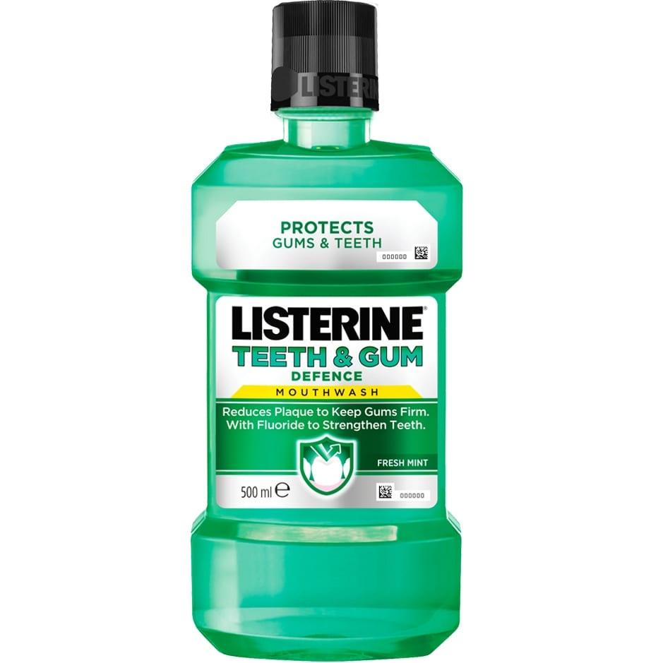 how to use listerine mouthwash effectively
